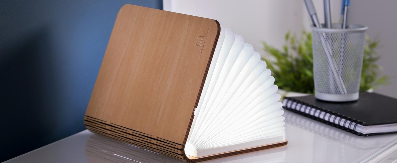 Baladeuse smart book mini bois d erable l9cm h12 2cm gingko normal