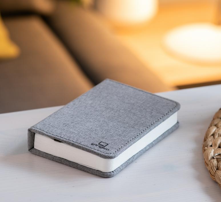 Smart book mini studio gingko baladeuse portable lamp  gingko gk12f gy8   design signed nedgis 96696 product