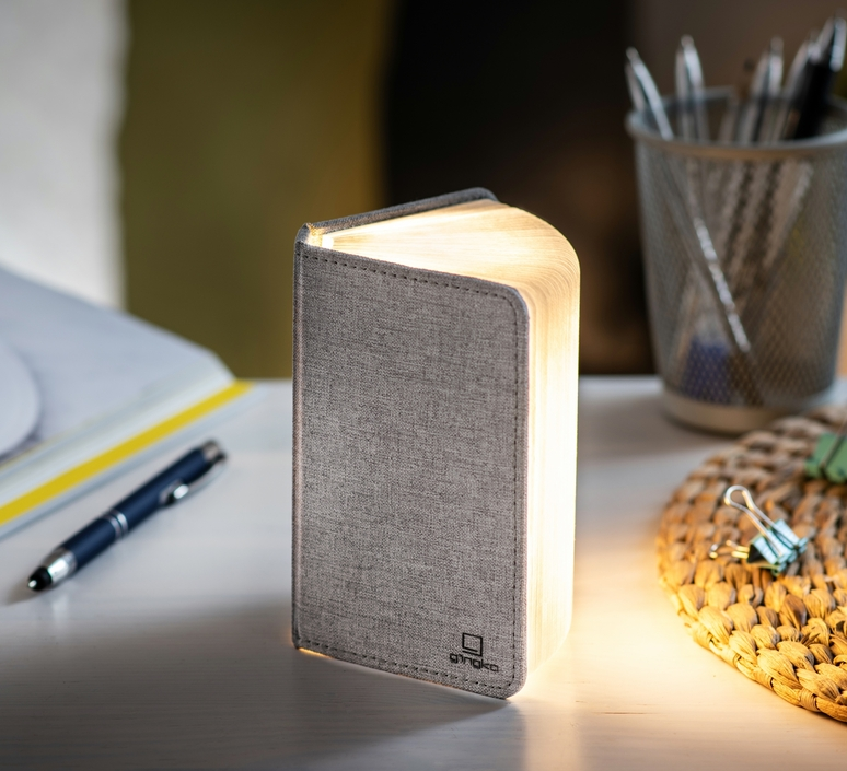 Smart book mini studio gingko baladeuse portable lamp  gingko gk12f gy8   design signed nedgis 96697 product