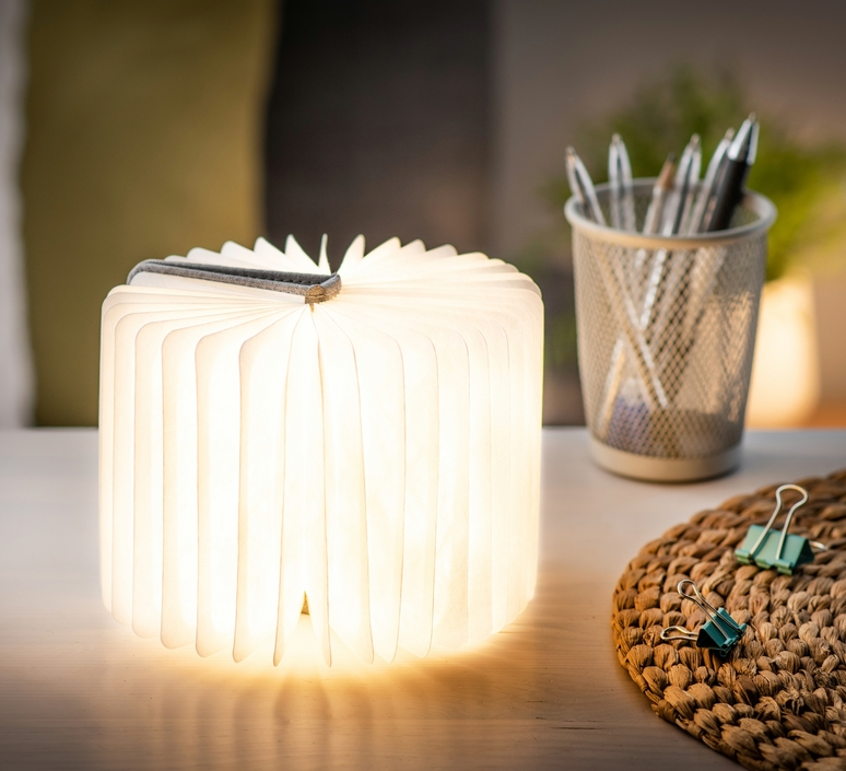 Smart book mini studio gingko baladeuse portable lamp  gingko gk12f gy8   design signed nedgis 96698 product