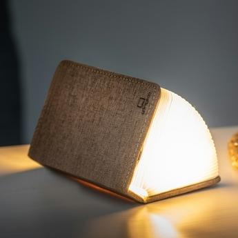 Baladeuse smart book mini marron l9cm h12 2cm gingko normal