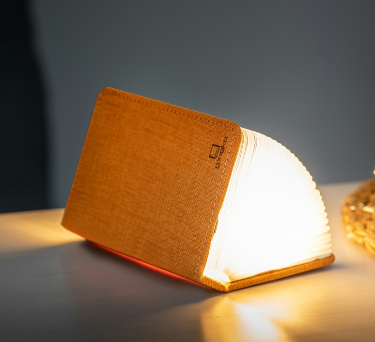 Smart book mini studio gingko baladeuse portable lamp  gingko gk12f oe8  design signed nedgis 96688 product