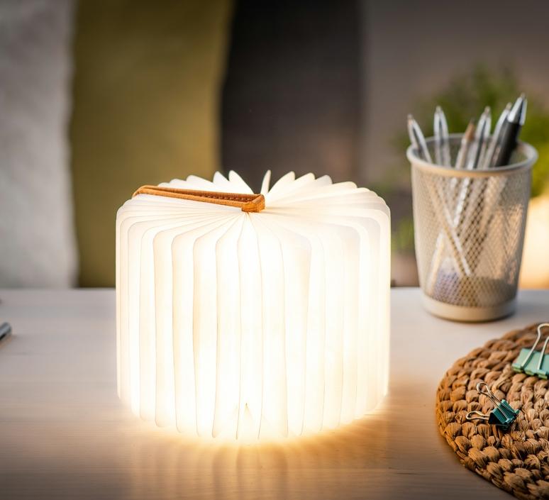 Smart book mini studio gingko baladeuse portable lamp  gingko gk12f oe8  design signed nedgis 96690 product