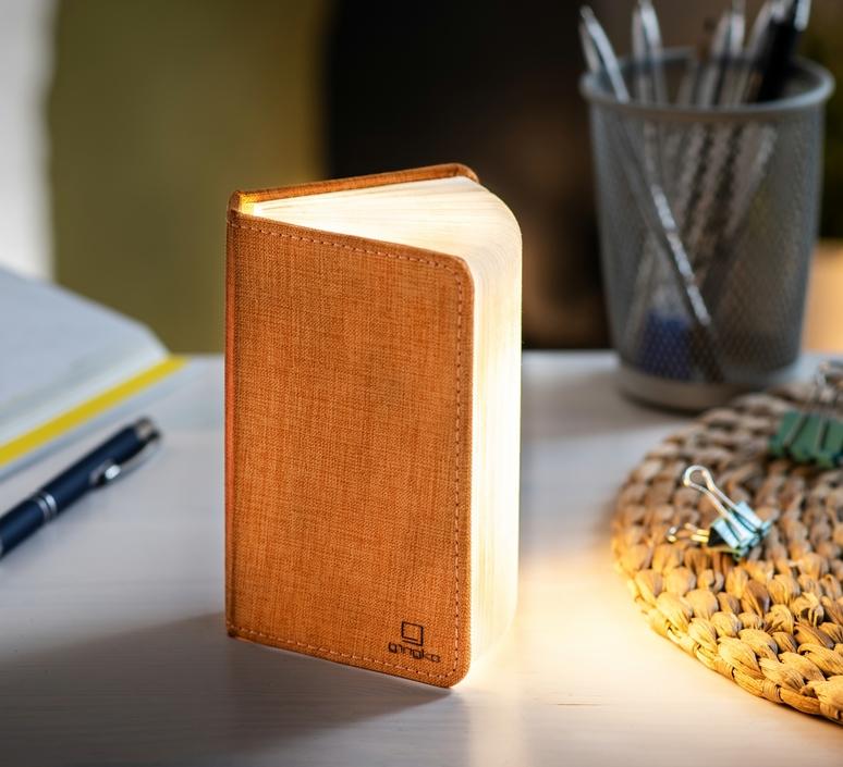 Smart book mini studio gingko baladeuse portable lamp  gingko gk12f oe8  design signed nedgis 96692 product
