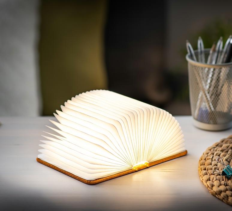Smart book mini studio gingko baladeuse portable lamp  gingko gk12f oe8  design signed nedgis 96693 product