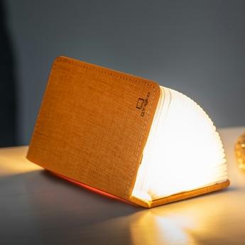 Baladeuse smart book mini orange l9cm h12 2cm gingko normal