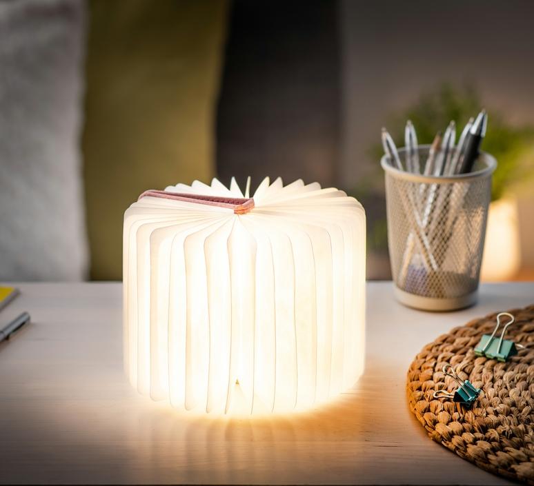 Smart book mini studio gingko baladeuse portable lamp  gingko gk12f pk8   design signed nedgis 96685 product