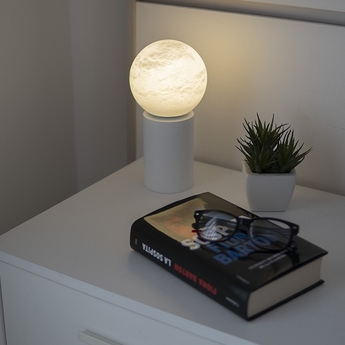 Baladeuse tribeca usb blanc ip45 led 3000k 150lm l12cm h24cm alma light normal