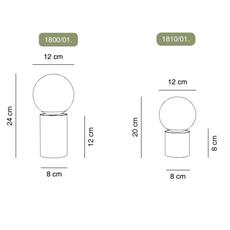 Tribeca usb jordi llopis baladeuse portable lamp  alma light 1810 018  design signed nedgis 115215 thumb
