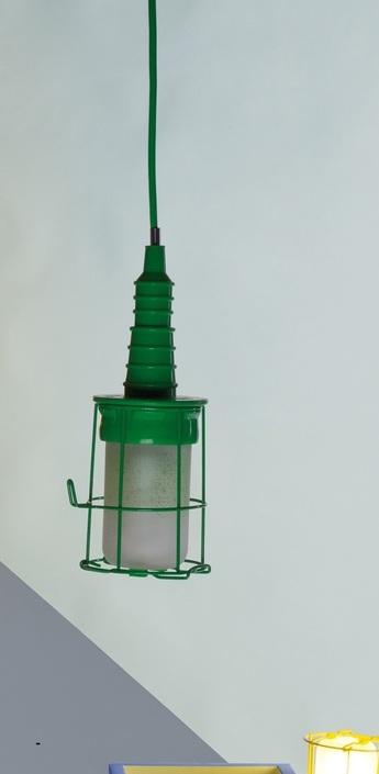 Baladeuse ubiqua vert h28cm seletti normal