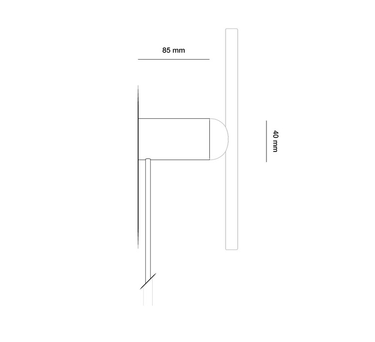 Applique base cable samuel wilkinson base pour applique wall lamp base  beem base applique  design signed nedgis 83241 product