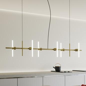 Base pour lustre lustre aeriel base laiton l142 5cm h20cm beem normal