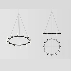 Lustre rond base samuel wilkinson base pour lustre base for chandelier  beem base lustre rond  design signed nedgis 83243 thumb