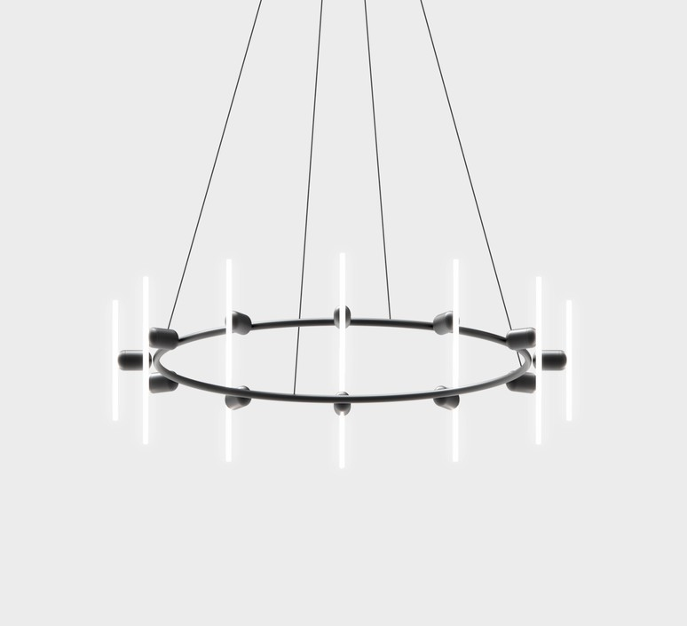 Lustre rond base samuel wilkinson base pour lustre base for chandelier  beem base lustre rond  design signed nedgis 83244 product