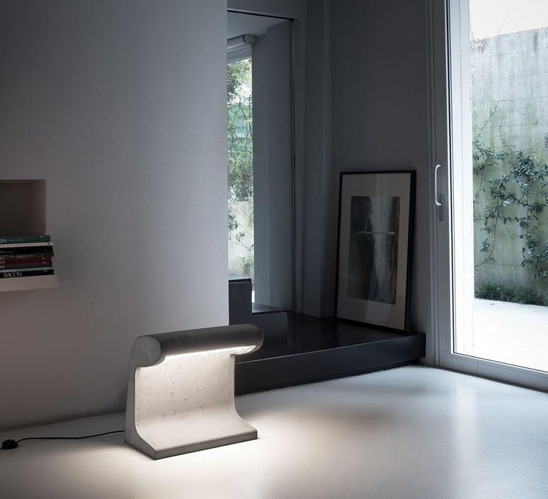 Borne beton charles le corbusier borne landscape light  nemo lighting bbg ldw 22  design signed 58099 product