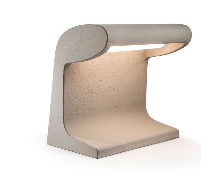 Borne beton charles le corbusier borne landscape light  nemo lighting bbg ldw 22  design signed 58101 product