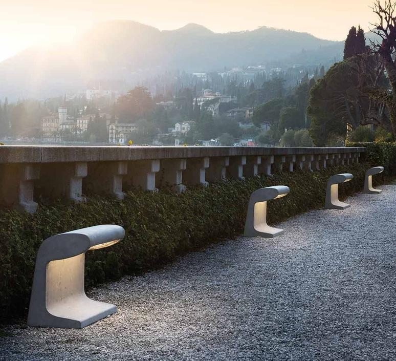 Borne beton  charles le corbusier borne landscape light  nemo lighting bbg ldw 21  design signed 58104 product