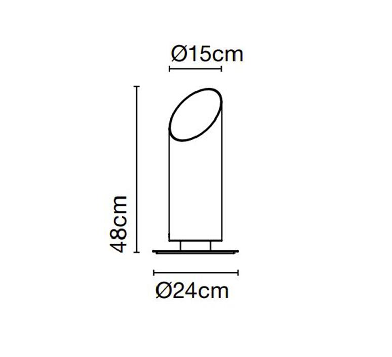Elipse p 48 josep lluis xucla borne landscape light  marset a707 001 38  design signed nedgis 115899 product