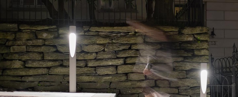 Borne flindt garden aluminium ip65 led 3000k 578lm o11 5cm h110cm louis poulsen normal