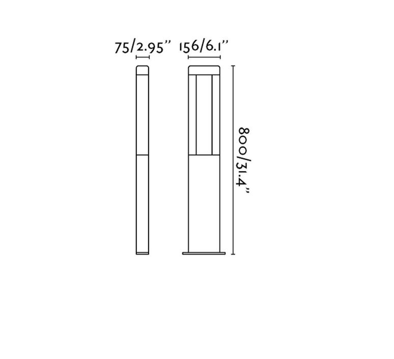 Nanda manel llusca borne landscape light  faro 71217  design signed 31638 product