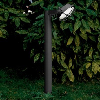 Borne out 90 anthracite led o22cm h90cm martinelli luce normal