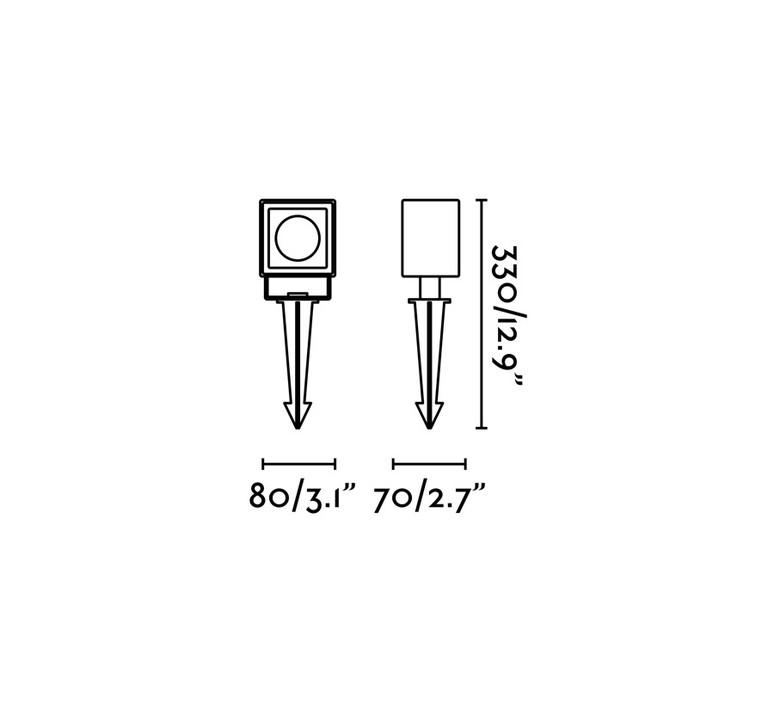 Sobek estudi ribaudi borne landscape light  faro 70151  design signed 48856 product
