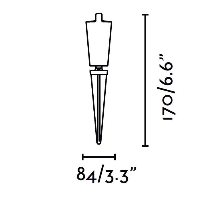 Toni alegre design borne landscape light  faro 71528  design signed 49172 product