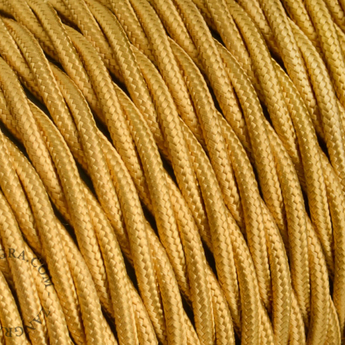 Cable textilecable 004 002 or l100cm h0 5cm zangra normal