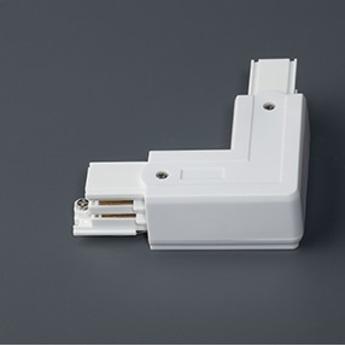 Connecteur angle droit blanc faro normal