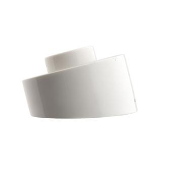 Copy of base de lampe etanche en porcelaine blanche o 8 5cm h5 5cm zangra normal