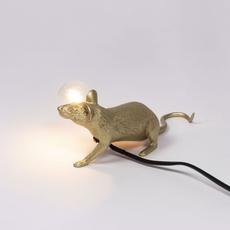 Mouse lie down marcantonio raimondi malerba lampe a poser table lamp  seletti 14943 gld  design signed nedgis 97845 thumb