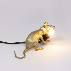 Mouse lie down marcantonio raimondi malerba lampe a poser table lamp  seletti 14943 gld  design signed nedgis 97846 thumb
