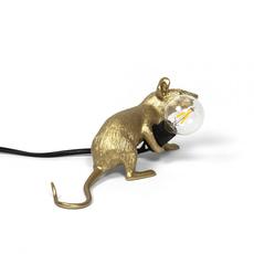 Mouse lie down marcantonio raimondi malerba lampe a poser table lamp  seletti 14943 gld  design signed nedgis 97850 thumb