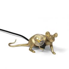 Mouse lie down marcantonio raimondi malerba lampe a poser table lamp  seletti 14943 gld  design signed nedgis 97851 thumb