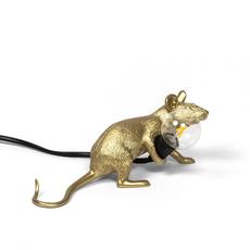 Mouse lie down marcantonio raimondi malerba lampe a poser table lamp  seletti 14943 gld  design signed nedgis 97852 thumb