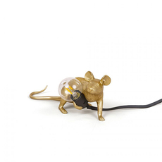 Mouse lie down marcantonio raimondi malerba lampe a poser table lamp  seletti 14943 gld  design signed nedgis 97853 thumb