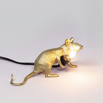 Copy of lampe a poser mouse lie downor l8 1cm h21cm seletti normal