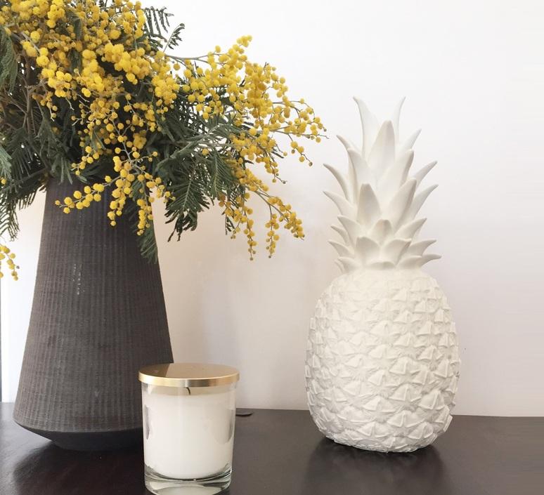 Ananas pina colada eva newton goodnight light pina colada blanc luminaire lighting design signed 60565 product