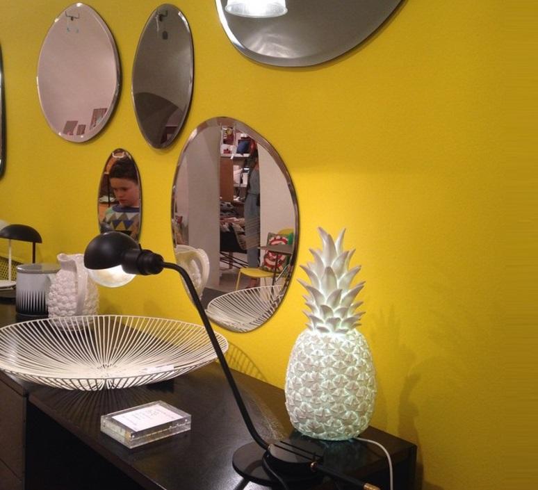 Ananas pina colada eva newton goodnight light pina colada blanc luminaire lighting design signed 60570 product