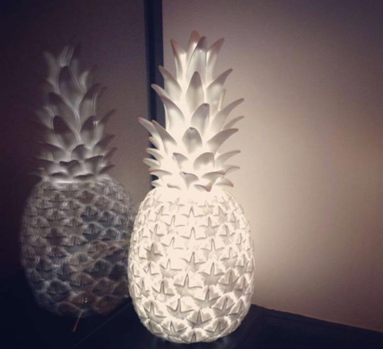 Ananas pina colada eva newton goodnight light pina colada blanc luminaire lighting design signed 60571 product