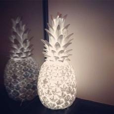 Ananas pina colada eva newton goodnight light pina colada blanc luminaire lighting design signed 60571 thumb