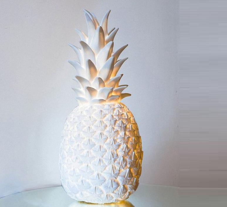 Ananas pina colada eva newton goodnight light pina colada blanc luminaire lighting design signed 60572 product