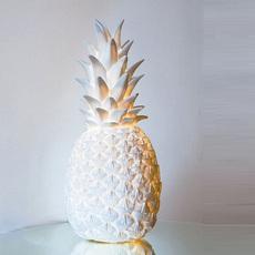 Ananas pina colada eva newton goodnight light pina colada blanc luminaire lighting design signed 60572 thumb