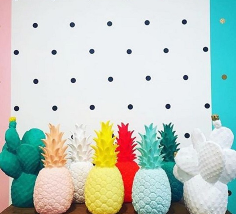Ananas pina colada eva newton goodnight light pina colada jaune luminaire lighting design signed 60526 product