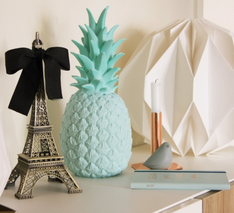 Ananas pina colada eva newton goodnight light pina colada menthe luminaire lighting design signed 60493 product
