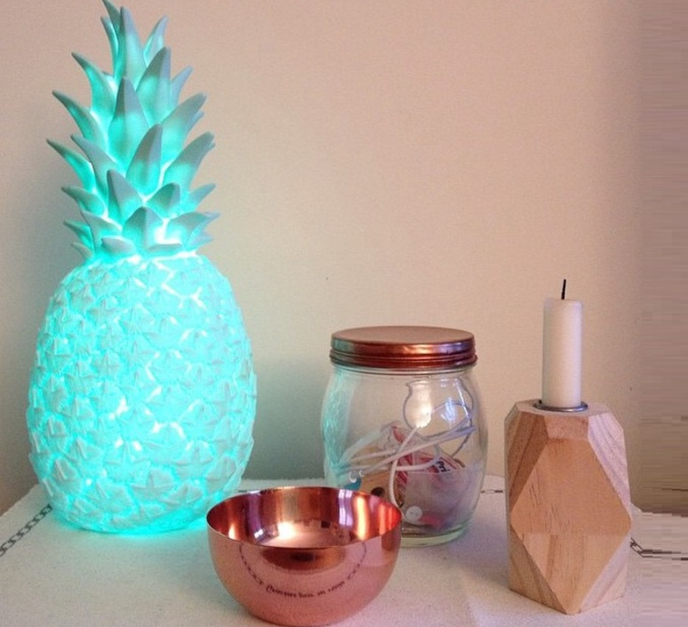 Ananas pina colada eva newton goodnight light pina colada menthe luminaire lighting design signed 60494 product