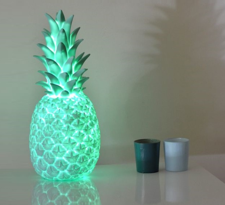 Ananas pina colada eva newton goodnight light pina colada menthe luminaire lighting design signed 60501 product