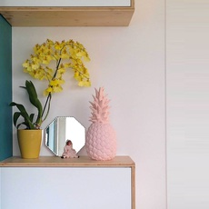 Ananas pina colada eva newton goodnight light pina colada rose pastel luminaire lighting design signed 60530 thumb