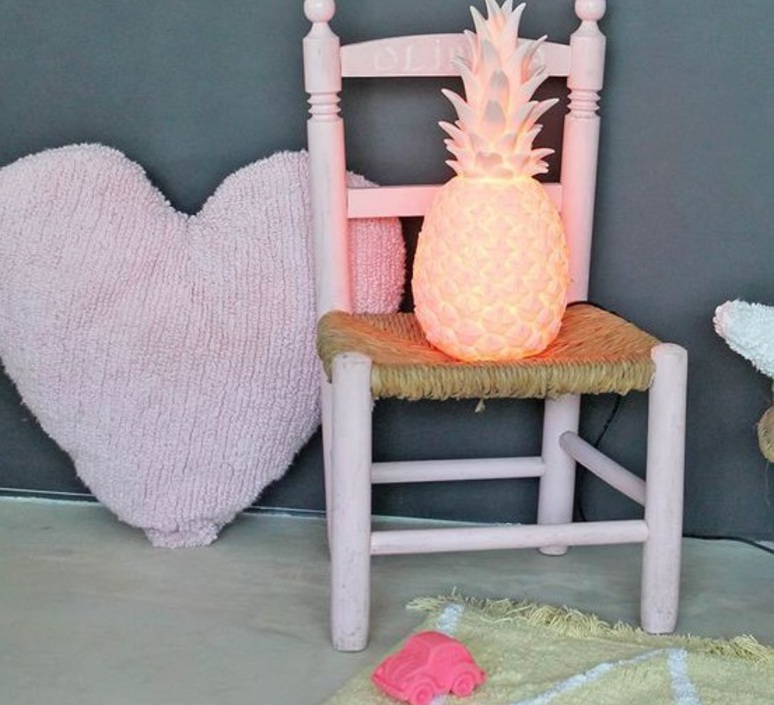 Ananas pina colada eva newton goodnight light pina colada rose pastel luminaire lighting design signed 60532 product