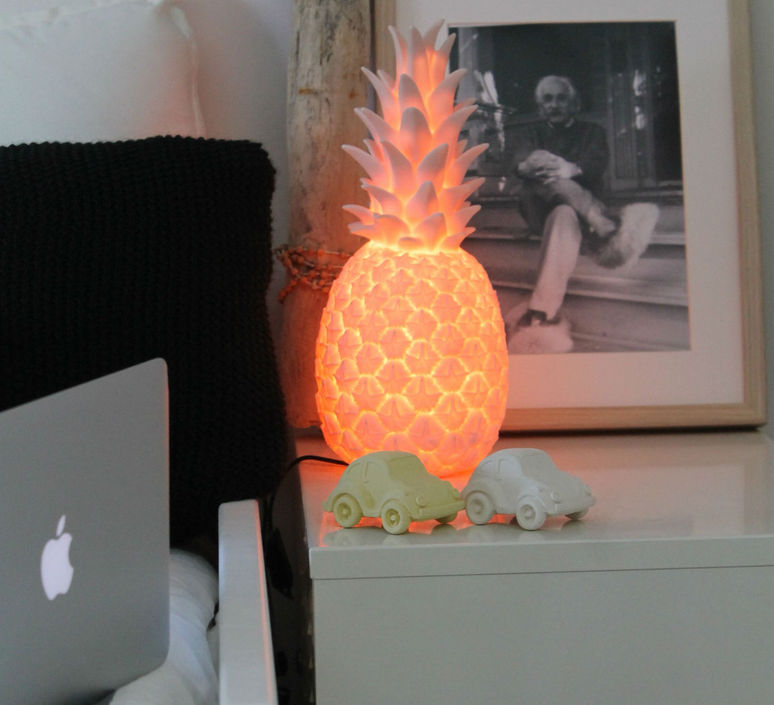 Ananas pina colada eva newton goodnight light pina colada rose pastel luminaire lighting design signed 60533 product